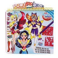 DC Super Hero Girls Fashion Sketch Portfolio