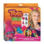 Dreamworks Trolls Hair Accessory & Braiding Kit