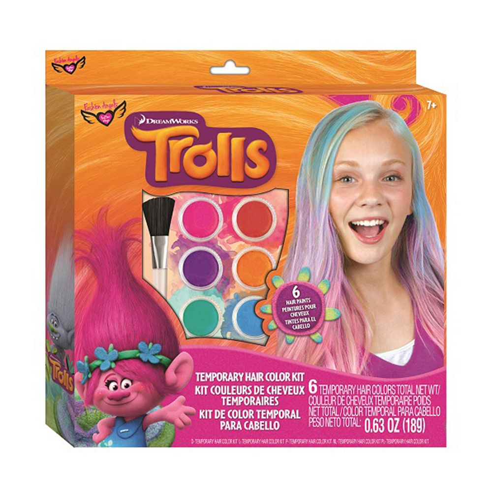 Trolls Temporary Hair Color Kit by Fashion Angels