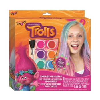 Dreamworks Trolls Temporary Hair Color Kit by Fashion Angels