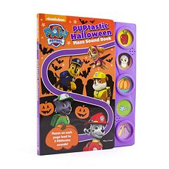 Paw Patrol Puptastic Halloween Maze Sound Book