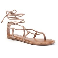 Candie's® Women's Lace-Up Sandals