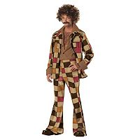 Adult Disco Hippy Costume