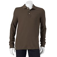 Men's Croft & Barrow® Easy-Care Pique Pocket Polo