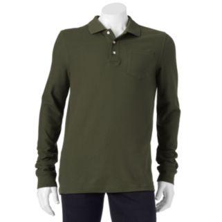 Men's Croft & Barrow® Easy-Care Pique Pocket Polo