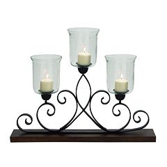 Updated Traditional Wood Candle Holder