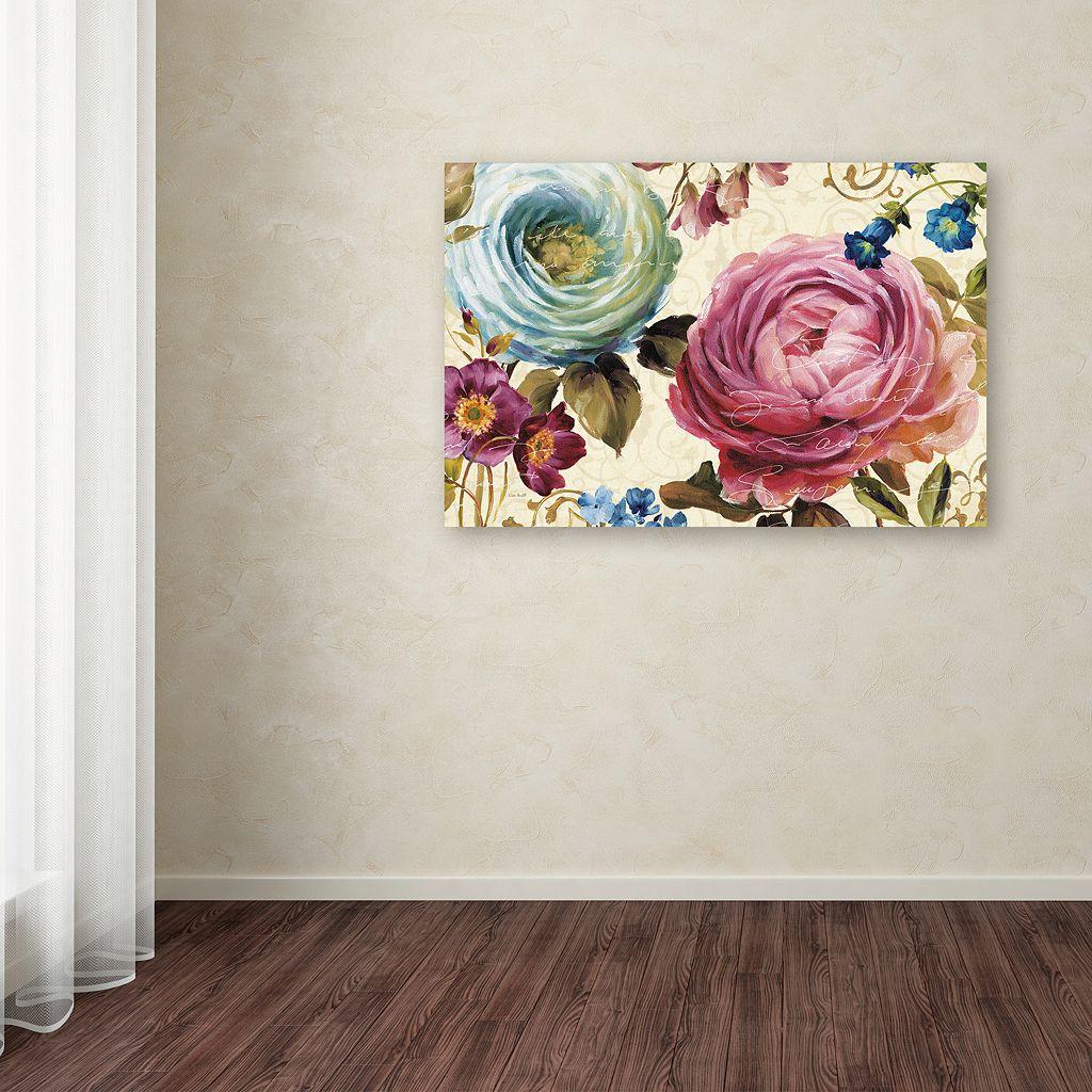 Trademark Fine Art Victorias Dream III Canvas Wall Art