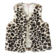 Girls 4-6x Design 365 Faux-Fur Vest