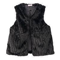 Toddler Girl Design 365 Faux-Fur Vest