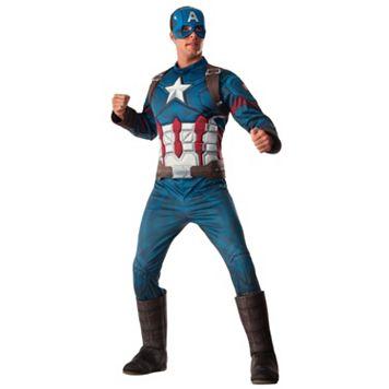 Adult Captain America: Civil War Captain America Deluxe One-Size Costume