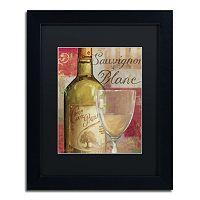 Trademark Fine Art Vin Abstract II Black Framed Wall Art