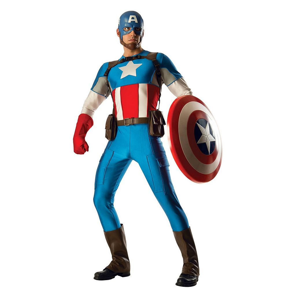 Adult Marvel Captain America Grand Heritage Costume