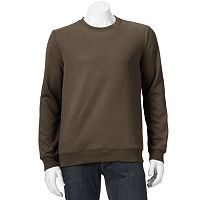 Men's Croft & Barrow® Easy-Care Fleece Crewneck Sweatshirt