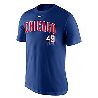 Men's Nike Chicago Cubs Jake Arrieta Tee