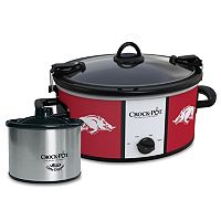 Crock-Pot Cook & Carry Arkansas Razorbacks 6-Quart Slow Cooker Set