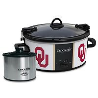 Crock-Pot Cook & Carry Oklahoma Sooners 6-Quart Slow Cooker Set