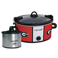 Crock-Pot Cook & Carry Georgia Bulldogs 6-Quart Slow Cooker Set