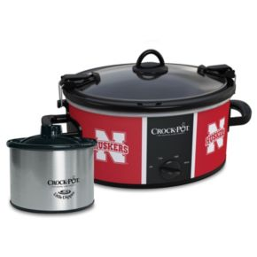 Crock-Pot Cook & Carry Nebraska Cornhuskers 6-Quart Slow Cooker Set