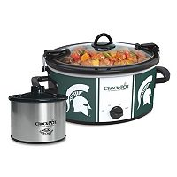 Crock-Pot Cook & Carry Michigan State Spartans 6-Quart Slow Cooker Set