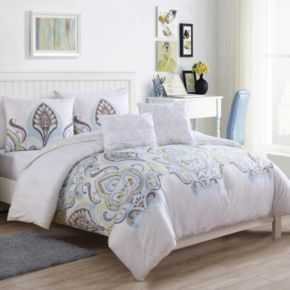 VCNY Shazia Reversible Comforter Set