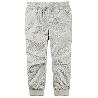Toddler Girl Carter's Poplin Jogger Pants