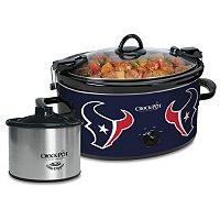 Crock-Pot Cook & Carry Houston Texans 6-Quart Slow Cooker Set