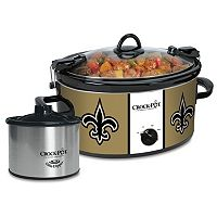 Crock-Pot Cook & Carry New Orleans Saints 6-Quart Slow Cooker Set