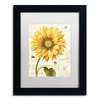 Trademark Fine Art Under the Sun I Black Framed Wall Art