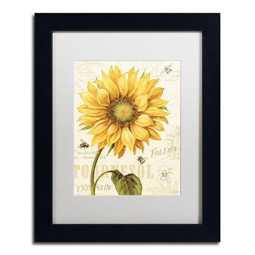 Trademark Fine Art Under the Sun I Black Framed Wall Art