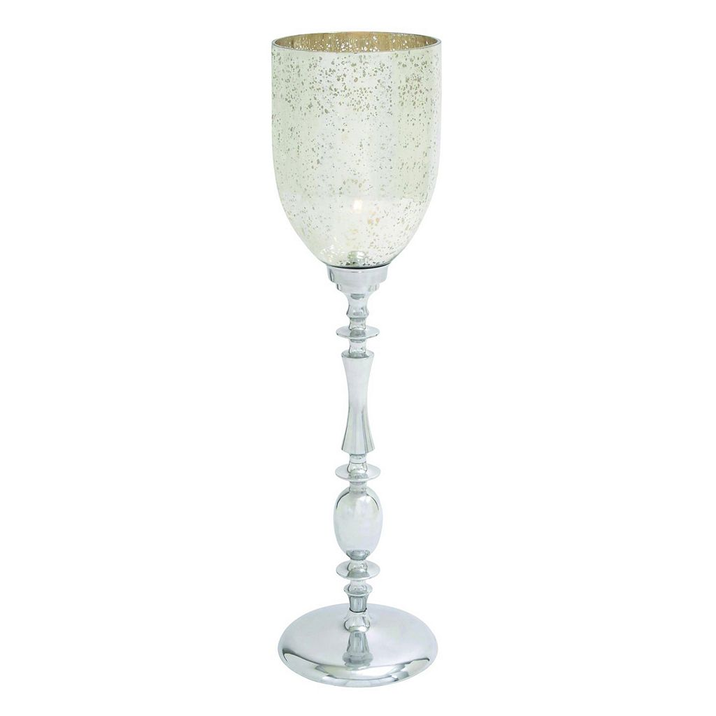 Mercury Glass Finish 42'' Candle Holder