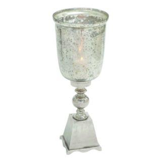 Mercury Glass Finish 26'' Candle Holder