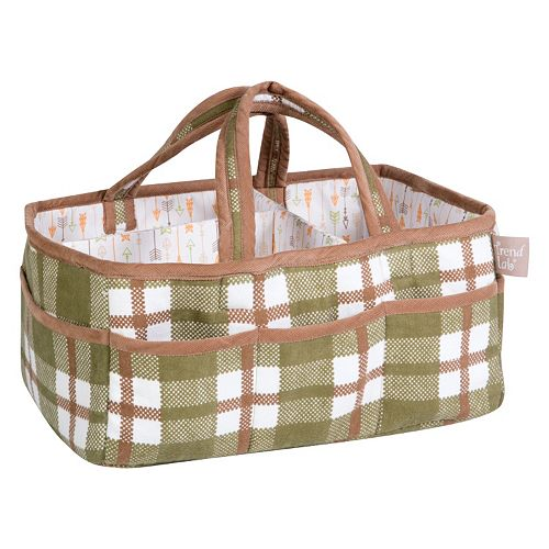 Trend Lab Deer Lodge Storage Diaper Caddy