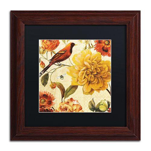 Trademark Fine Art Rainbow Garden Spice II Framed Wall Art