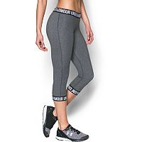 Women's Under Armour Favorite Wordmark Capris