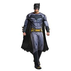 Adult Plus Batman v Superman: Dawn of Justice Batman Deluxe Costume by
