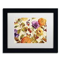 Trademark Fine Art End of Summer I Black Framed Wall Art