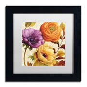 Trademark Fine Art End of Summer II Black Framed Wall Art