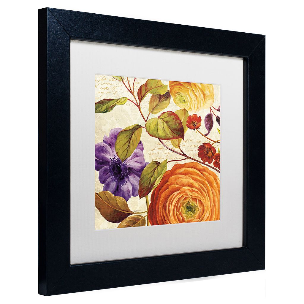Trademark Fine Art End of Summer III Black Framed Wall Art