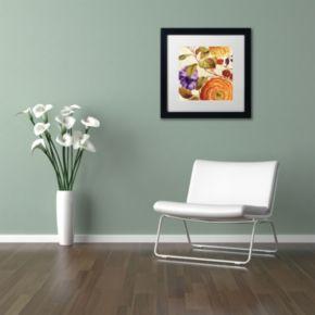 Trademark Fine Art End of Summer III Black Framed Wall Art