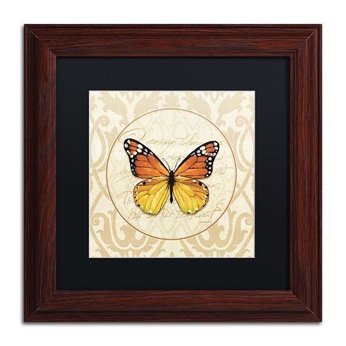 Trademark Fine Art End of Summer IV Framed Wall Art