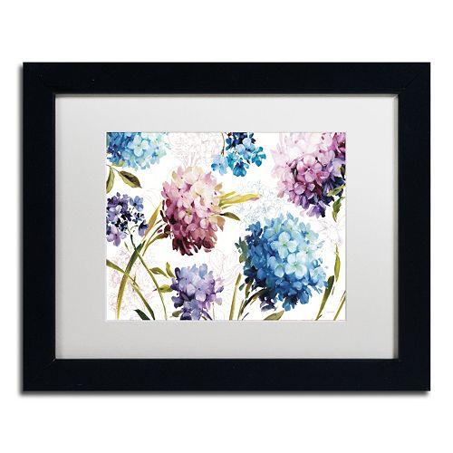 Trademark Fine Art Spring Nectar I Black Framed Wall Art