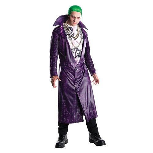 Adult Suicide Squad Joker Deluxe Costume