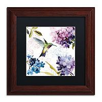 Trademark Fine Art Spring Nectar Square II Framed Wall Art