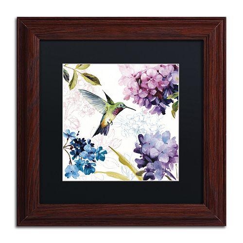 Trademark Fine Art Spring Nectar Square II Framed Wall Art
