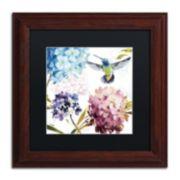Trademark Fine Art Spring Nectar Square III Framed Wall Art