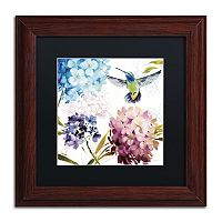 Trademark Fine Art Spring Nectar Square III Framed Wall Art