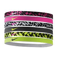 Nike 6-pk. Solid & Abstract Geometric Headband Set