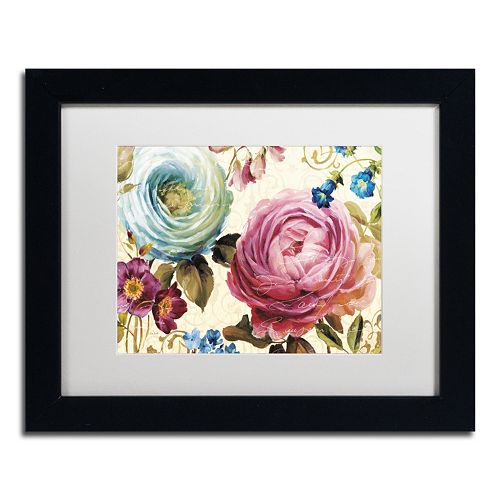 Trademark Fine Art Victorias Dream III Black Framed Wall Art