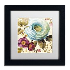 Trademark Fine Art Victorias Dream I Black Framed Wall Art