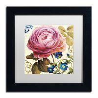 Trademark Fine Art Victorias Dream II Black Framed Wall Art